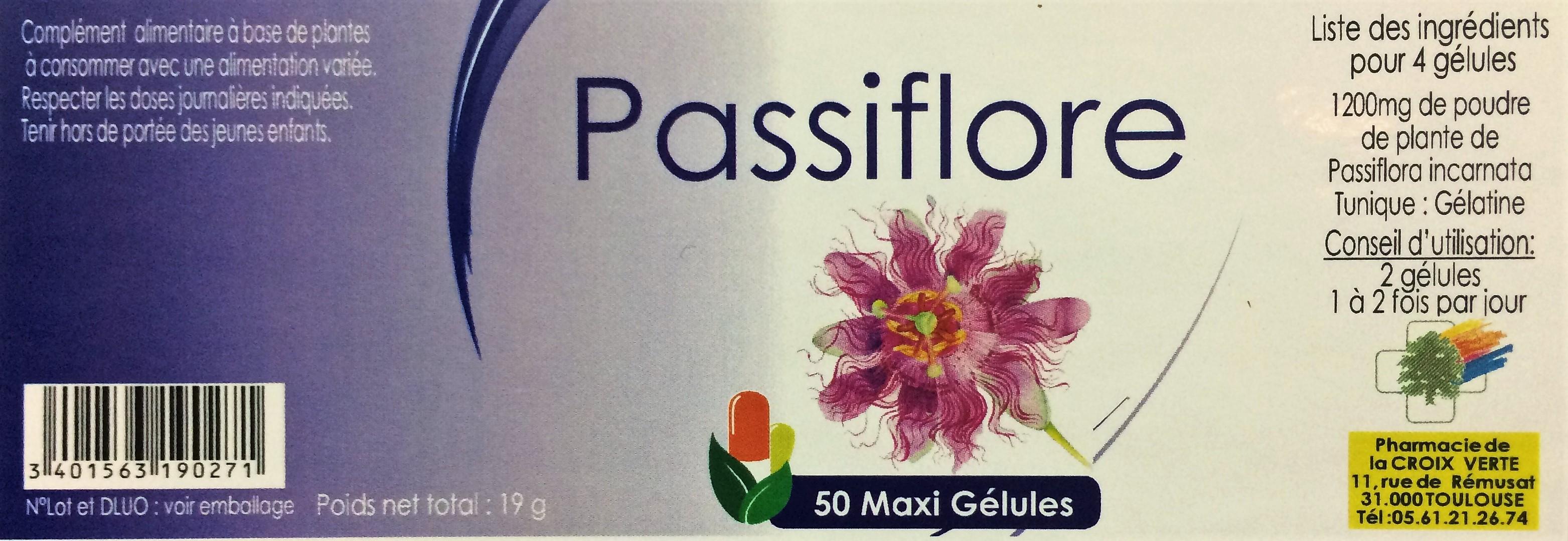 passiflore 50 gel plante pharmacie de la croix verte herboristerie toulouse. Black Bedroom Furniture Sets. Home Design Ideas